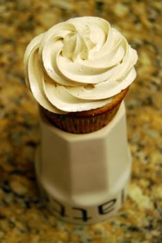 Coffee Cupcakes with Coffee Liqueur Buttercream | Cook Like A Champion