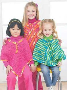 Easy Ponchos | Yarn | Free Knitting Patterns | Crochet Patterns | Yarnspirations