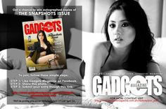 Get a chance to win autographed copies of The Snapshots Issue and a signed copy of The Jinri Experience! Gadget Magazine, Park Birthday, Covergirl, Ph, Giveaway, Things I Want, Gadgets, Signs, Cover Girl