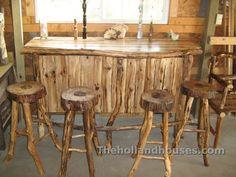 Rustic Bar Set