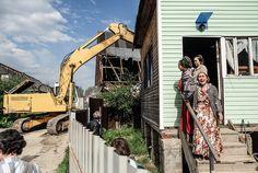 Как под Тулой сносят крупнейший в России цыганский поселок