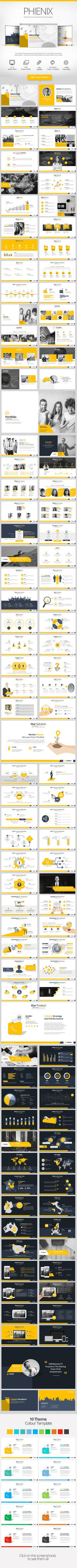 Phienix Powerpoint Presentation Template #design #slides Buy Now: http://graphicriver.net/item/phienix-powerpoint-presentation/12852607?ref=ksioks