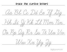 FREE Cursive Handwriting Worksheets | Cursive handwriting ...