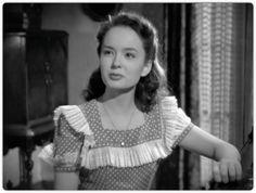 "Ann Blyth as Veda Pierce in 1945's "" Mildred Pierce."""