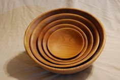 Handmade artesanal wooden salad bowl set from JC Turnings  https://www.indiegogo.com/projects/help-build-a-new-workshop-for-jorge/x/10082856