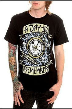 A Day to Remember shirt! :)