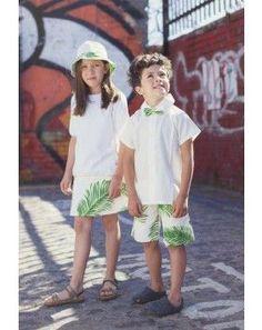 Tendencia tropical. Moda infantil- Aravore