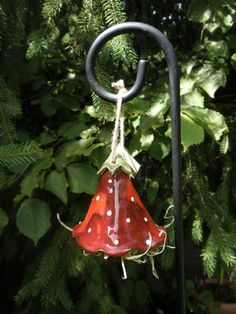 Insektenhotel ,Käfer-Glocke aus Keramik  von WunschStücke auf DaWanda.com