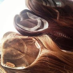 Real Hair Wigs, FOLLEA topettes - Loving working with this product!