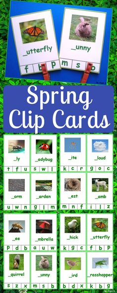 Letter cards for beginners in the spring are a great activity for literacy stations or for early fin Teaching Philosophy, Philosophy Of Education, Teacher Resources, Teacher Pay Teachers, Classroom Resources, Teaching Strategies, Teaching Ideas, Teaching Methods, First Year Teaching
