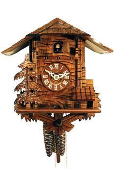 Alexander Taron Black Forest chalet-style cuckoo clock