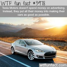 Tesla Motors, the best electric cars ever made - WTF fun facts