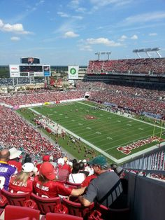 Catch a game at Raymond James Stadium to round out your day