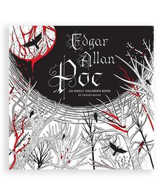 Loving This Edgar Allan Poe An Adult Coloring Book On Zulily Zulilyfinds