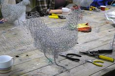 Chicken Wire Sculpture