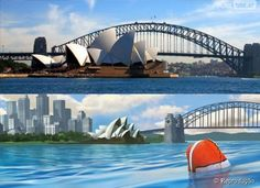 Sidney, Austrália - Procurando Nemo