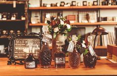 old fashioned whiskey bar via Gren Wedding Shoes