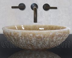 Find This Pin And More On Bathroom Ideas I Love These Bowl Sinks Especially The Stone