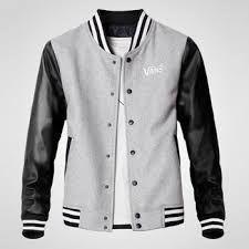 Resultado de imagem para jaqueta college masculina