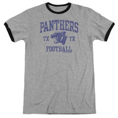"""Checkout our #LicensedGear products FREE SHIPPING + 10% OFF Coupon Code """"Official"""" Friday Night Lights / Panther Arch - Adult Ringer - Heather - Heather - Friday Night Lights / Panther Arch - Adult Ringer - Heather - Heather - Price: $34.99. Buy now at https://officiallylicensedgear.com/friday-night-lights-panther-arch-adult-ringer-heather-heather"""