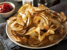 Smažené bramborové spirály