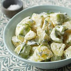 Tzatziki Potato Salad-no mayo!!!