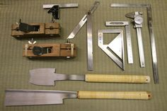 Some of the handcrafting tools we use. Honoring the tradition of shoji. Follow the way the tree grows. Shoji takes about a week to make and ...
