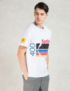 Opening Ceremony White Kodak Logo T-Shirt