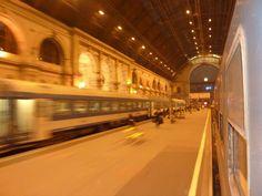 Keleti Palyaudvar Train Station..Budapest, Hungary