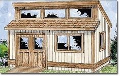 Garden shed plans this old house Pic Example Garden shed…