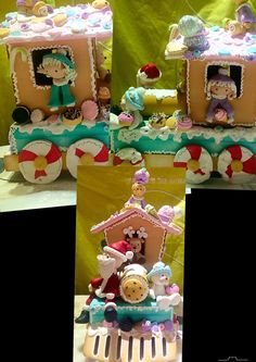 Christmas Clay, Christmas Train, Christmas 2017, Merry Christmas, Xmas, Biscuit, Gourd Art, Diy Clay, Winter Holidays