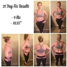 21 day fix results- love this program!