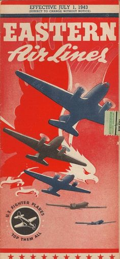 Eastern  Airlines ticket 1943