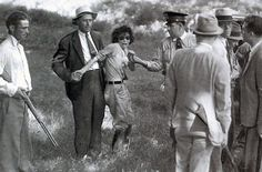 Blanche Barrow, member of Bonnie and Clyde's gang, at the moment of her capture in August, 1933. Blanche was the only member of the gang to survive their exploits, dying in 1988.