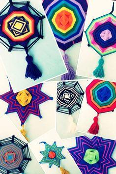 souvenirs mandalas ojos de dios colgante atrapasueños