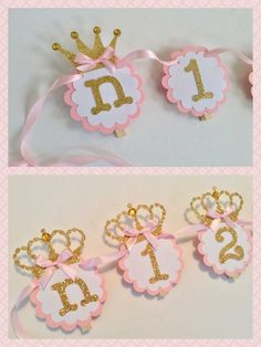 12 month photo banner Princess Pink and Gold Newborn to one Birthday Picture Banner, Birthday Garland, First Birthday Pictures, Photo Banner, Birthday Month, Birthday Diy, First Birthday Parties, First Birthdays, Princess Gifts