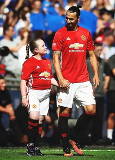 Zlatan Ibrahimovic – this is seriosuly one of the cutest photos of him ever.