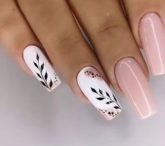 Cute Gel Nails, Chic Nails, Stylish Nails, Trendy Nails, Swag Nails, Pink Nails, Art Nails, Acrylic Nails Coffin Short, Best Acrylic Nails