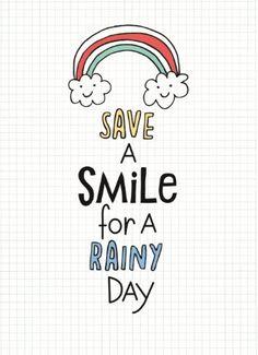 Save a smile for a rainy day! #Hallmark #HallmarkNL #wenskaart #versvandepers