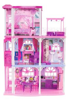My favorite Christmas memory...getting Barbie Townhouse