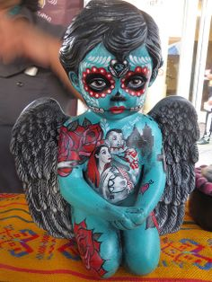 Day of the Dead Sculpture Art | Flickr - Photo Sharing!