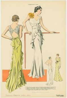 left green one .... lovely back. could look lovely without side ruffles too?? not sure about the front.