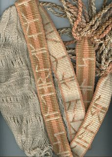 weft to my own devices: Sprang