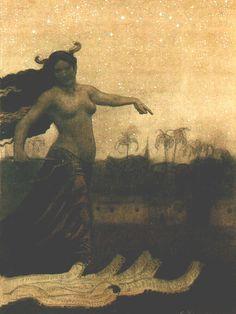 the-cinder-fields:  Artist: Sascha Schneider,1905