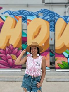 Hou. Check out my blog post for more murals in Midtown Houston. Houston Murals, Houston Skyline, The Creation Of Adam, Busy Street, Dogwood Flowers, Driving Directions, Graffiti, Latina, Wall Art