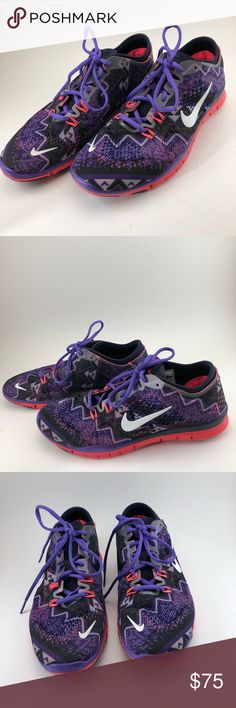 """⭐️🆕[Nike]Free Flyknit 5.0 Running Shoes - NEW New Nike Size 9  🛍Bundle - save 💵 - Get a possible discount - All your Rox4You 🛍 will be mailed together - 1️⃣📦charge - (ONLY in """"bundle"""")  🚫No Trades - I work for 1️⃣ client, selling her fabulous retired designer wardrobe Nike Shoes Athletic Shoes"""