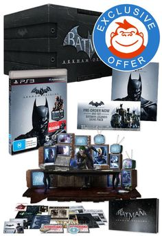 Batman: Arkham Origins Definitive Edition for PS3