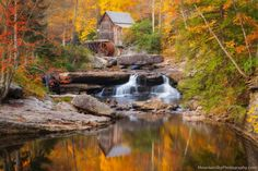 Glade Creek Grist Mill, Babcok St Par WV | Beautiful Views