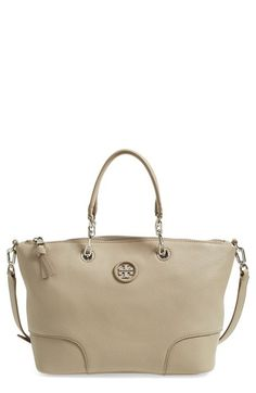 Tory Burch 'Small' Leather Satchel (Nordstrom Exclusive) available at #Nordstrom
