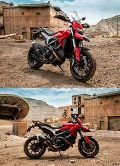 Why makes a Ducati so lustful? Enduro Motorcycle, Ducati Motorcycles, Cars And Motorcycles, Motorcycle Touring, Cafe Moto, Off Road Experience, Moto Ducati, Ducati Hypermotard, Cafe Racer Build